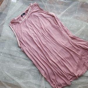 Flowy rose pink Dress